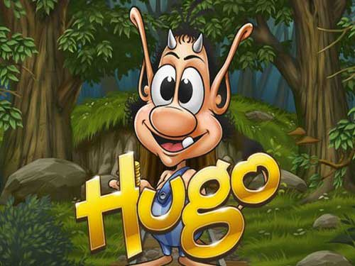 Hugo background logo