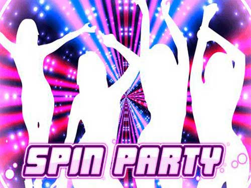 Spin Party background logo