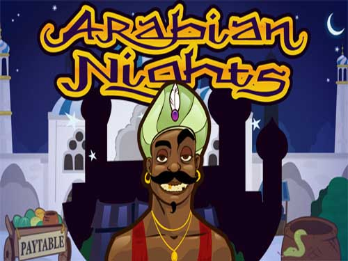 Arabian Nights background logo