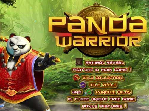 Panda Warrior background logo