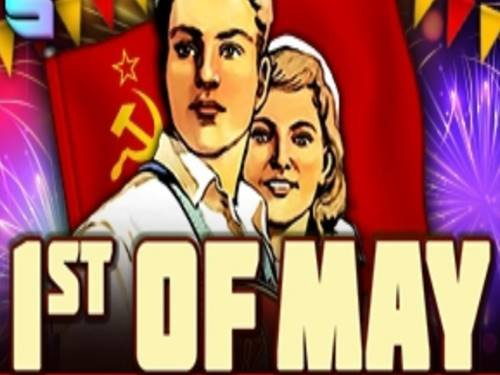 1st Of May background logo