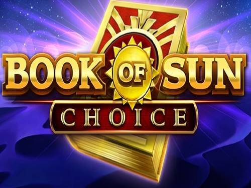 Book Of Sun: Choice background logo