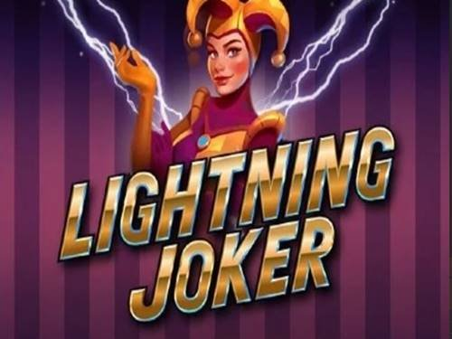 Lightning Joker background logo