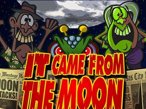 It Came From The Moon background logo