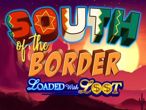 South Of The Border background logo