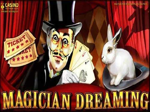 Magician Dreaming background logo