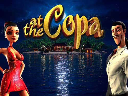 At the Copa background logo