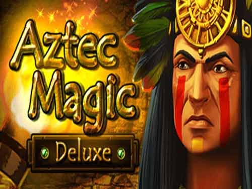 Aztec Magic Deluxe background logo