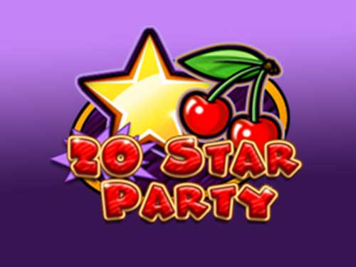 20 Star Party background logo