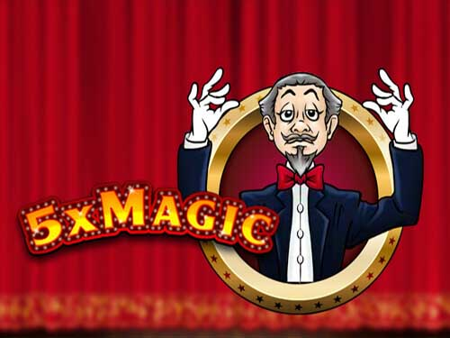 5x Magic background logo