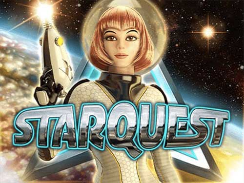 Star Quest background logo