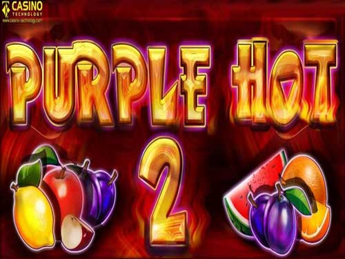 Purple Hot 2 background logo