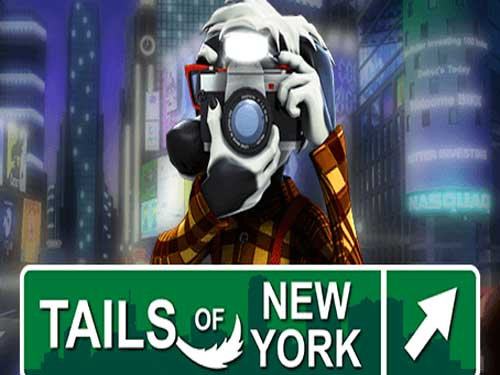 Tails of New York background logo