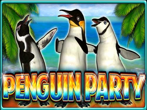 Penguin Party background logo