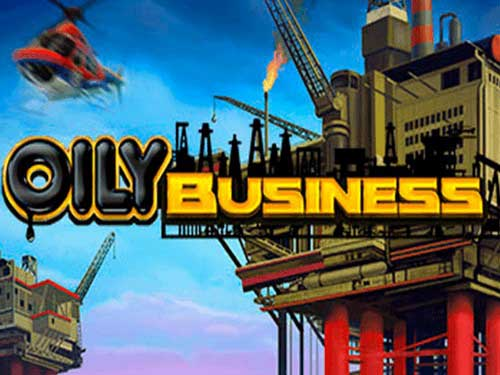 Oily Business background logo