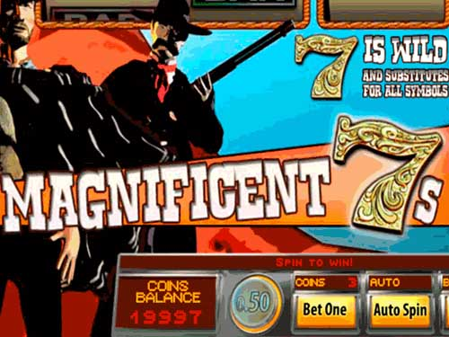 Magnificent 7s background logo