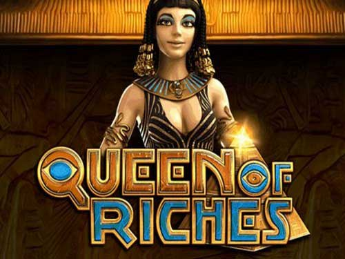 Queen of Riches background logo
