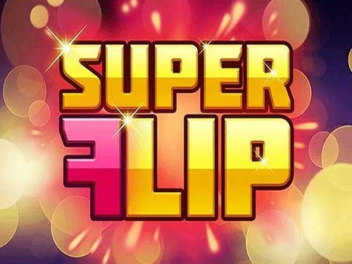 Super Flip background logo