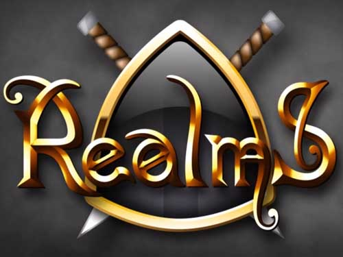 Realms background logo