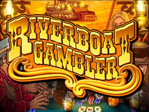 Riverboat Gambler background logo