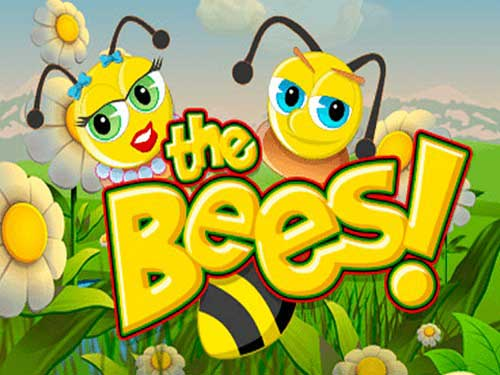 The Bees background logo
