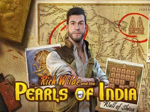 Rich Wilde and The Pearls of India background logo