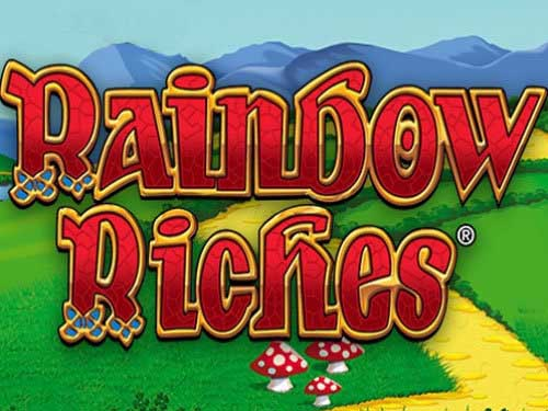 Rainbow Riches background logo