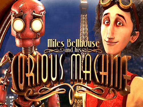 Miles Bellhouse and Curious Machine logo