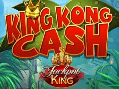 King Kong Cash Jackpot King logo