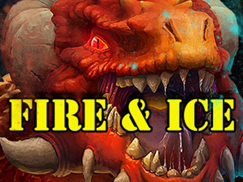 Fire & Ice background logo
