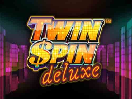 Twin Spin Deluxe background logo