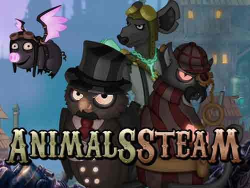 Animals Steam background logo
