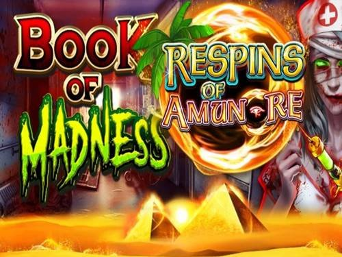 Book Of Madness Respins Of Amun Re logo