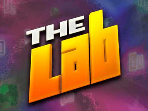 The Lab background logo