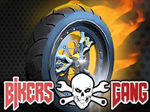 Bikers Gang background logo