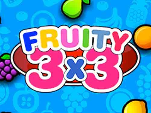 Fruity 3x3 background logo
