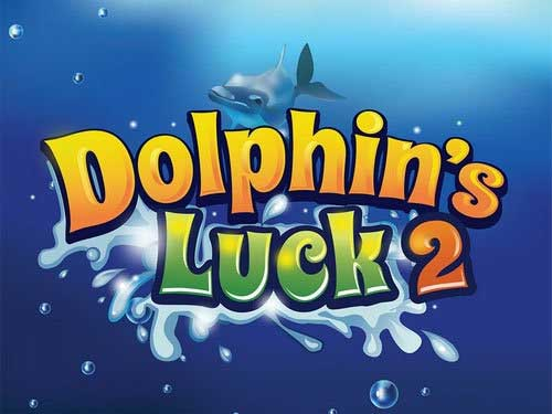 Dolphin's Luck 2 background logo
