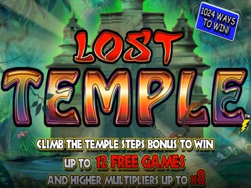 Lost Temple background logo