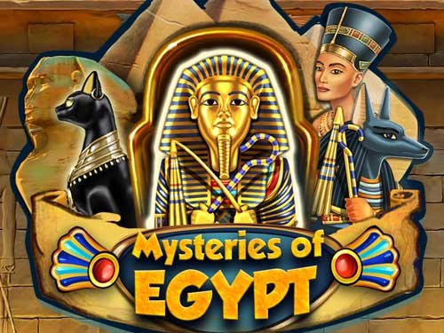 Mysteries of Egypt background logo