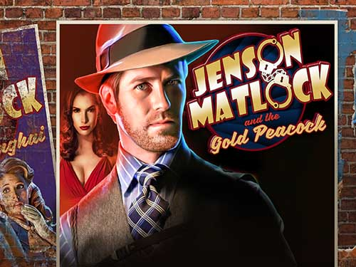 Jenson Matlock & the Gold Peacock logo