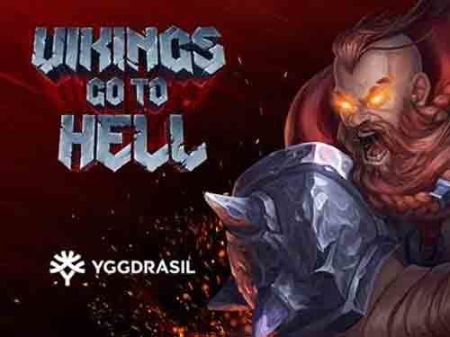 Vikings go to Hell background logo