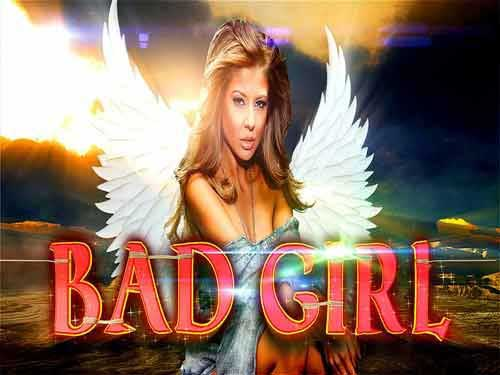 Bad Girl background logo