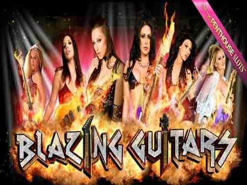 Blazing Guitars logo
