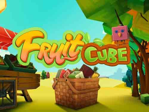 Fruit Cube background logo