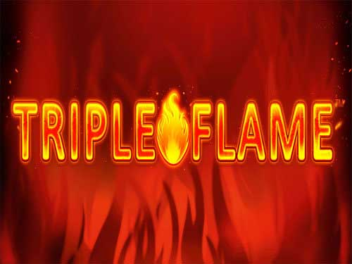 Triple Flame background logo