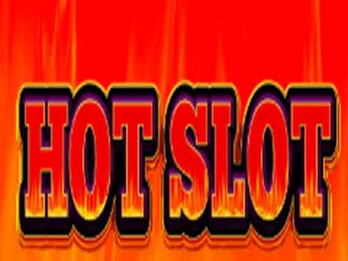 Hot background logo