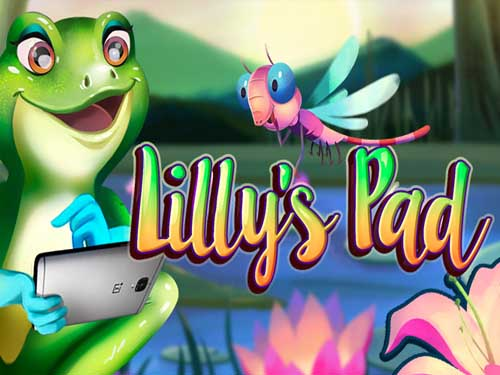 Lilly's Pad background logo