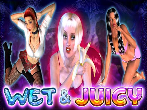 Wet & Juicy background logo
