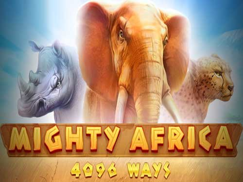 Mighty Africa background logo