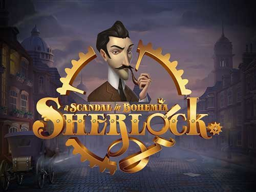 Sherlock. A Scandal in Bohemia background logo